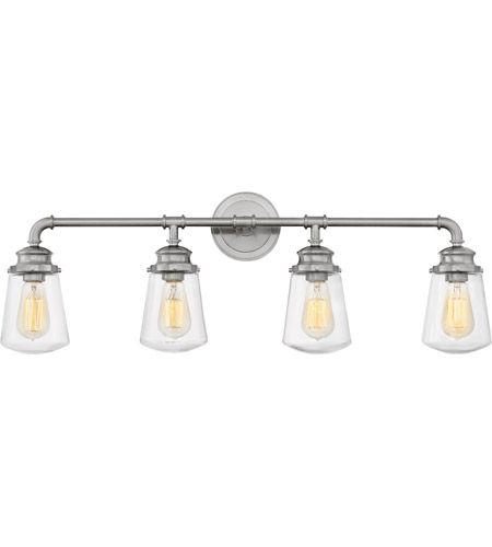 Photo of Hinkley 5034BN Fritz 4 Light 34 inch Brushed Nickel Bath Sconce Wall Light