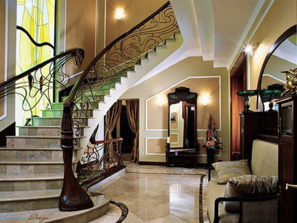 interior style modern art nouveau interior is the use of modern technologies and new requirements for interior design - Art Nouveau Interior Design Style
