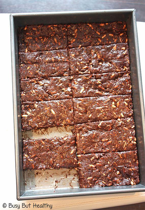 Chewy Chocolate Cherry Protein Bars | Recipe | Homemade ...