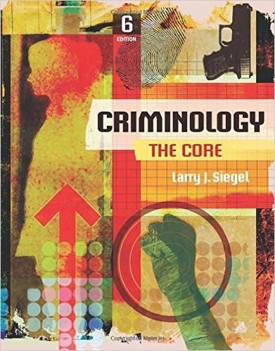 Criminology the core 6th edition by larry j siegel isbn 13 978 isbn 13 978 1305642836 ebookdownloadable pdf test bank and solution manual available for sale fandeluxe Image collections