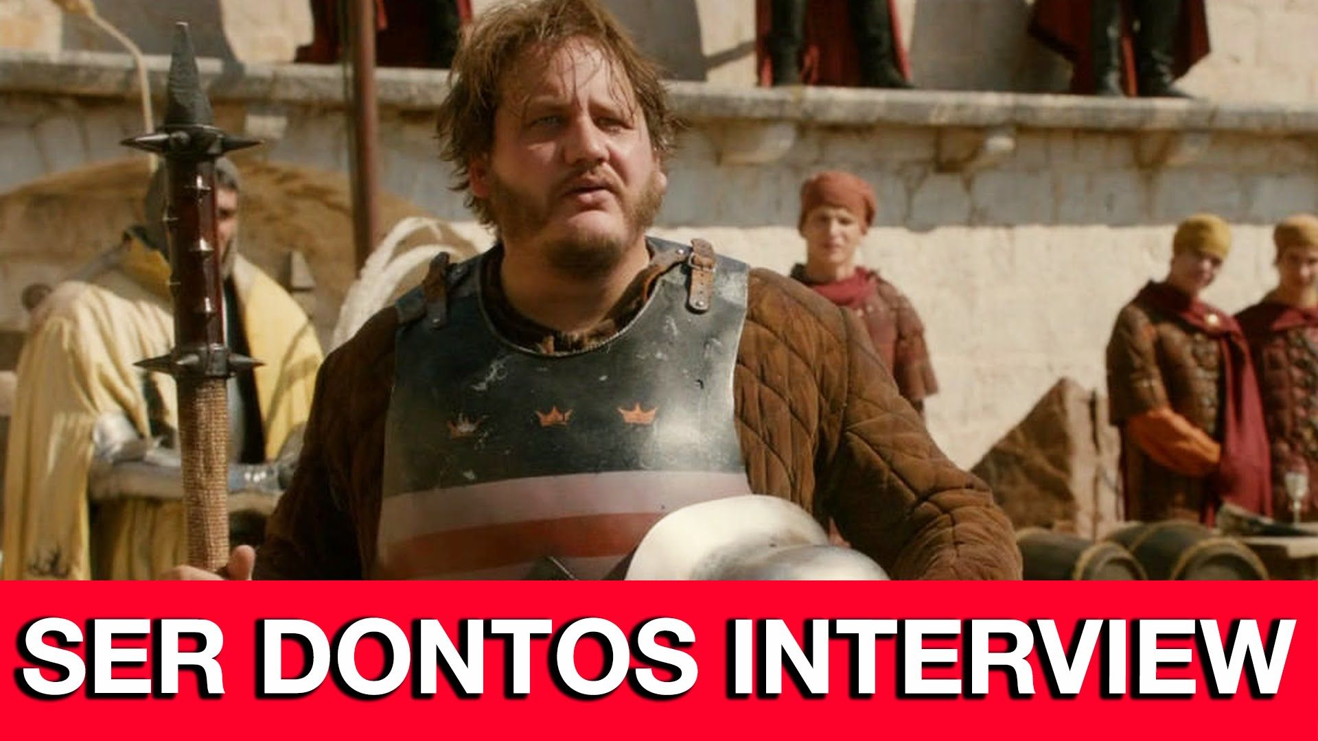 Game of Thrones Purple Wedding Ser Dontos Interview - Tony Way