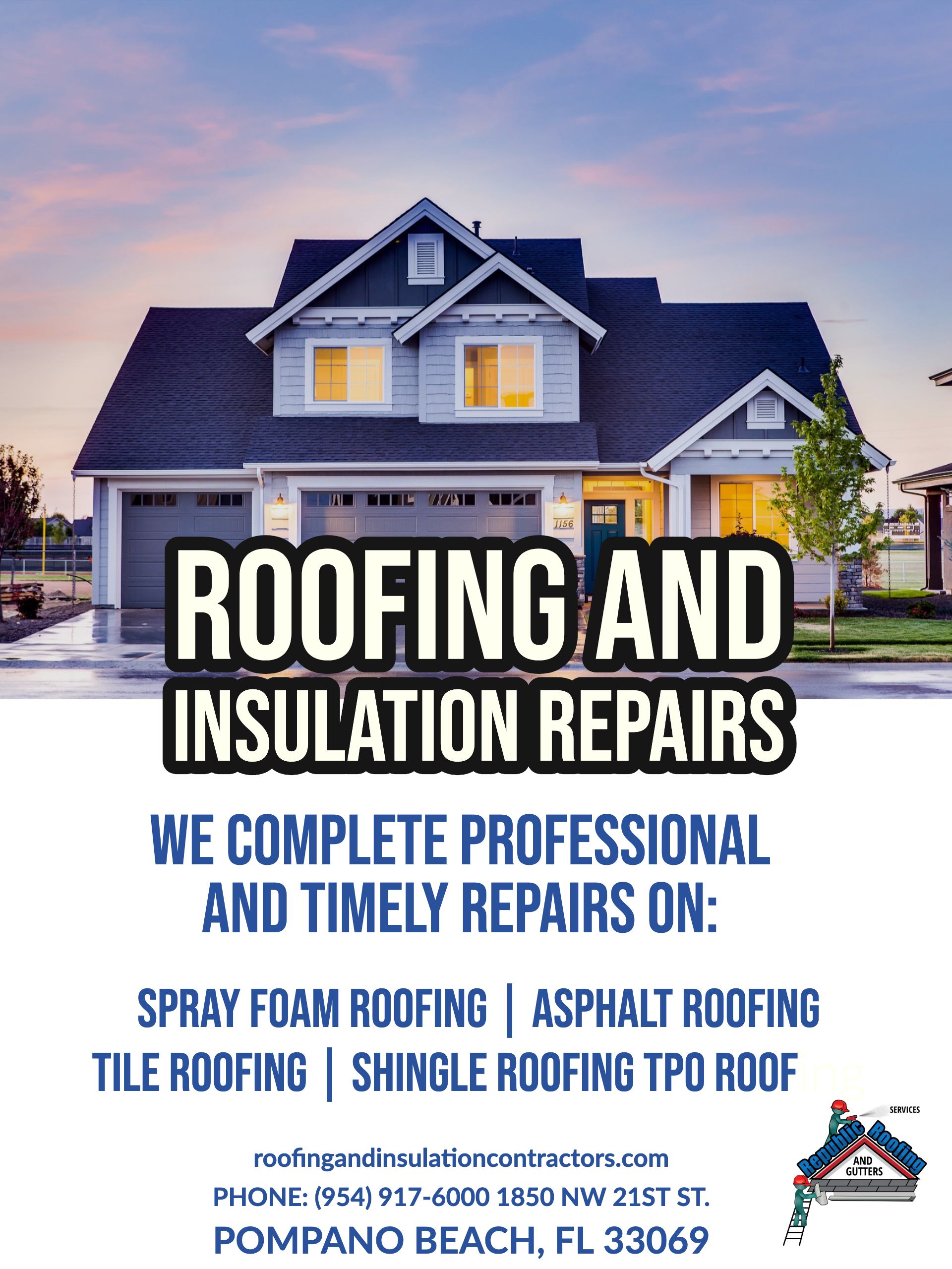 Roofing In South Florida Roofing Roof Repair Roofing Services