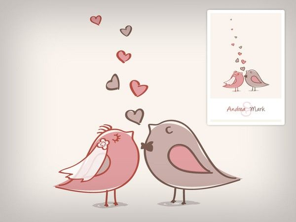 free,wedding,invitation,template,love,birds,heart Dududududu - love templates free