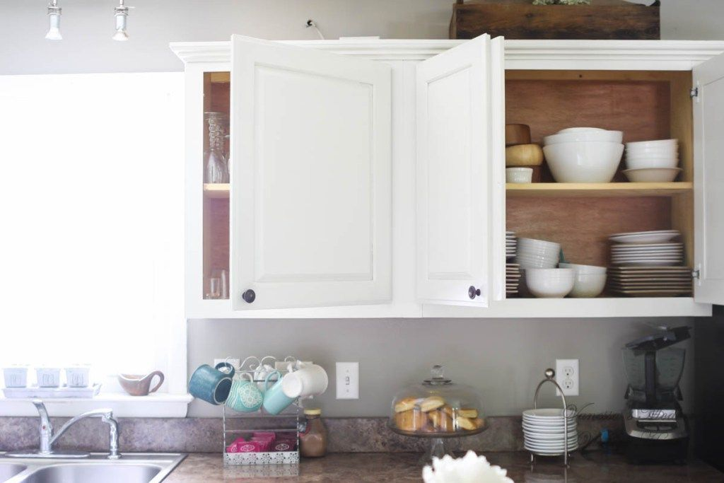 How I Painted My Kitchen Cabinets Without Removing The ...
