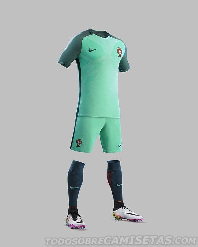 camiseta de portugal verde