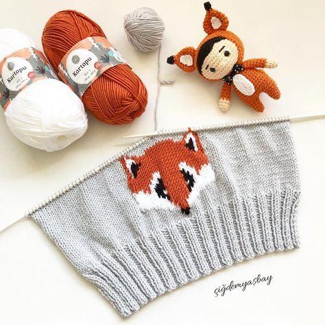 Bazı #tilki -ler çok tatlı ???? Yepyeni bir #bere olma yolunda az kaldı ☺️ Ne tatlı pazar ???????? Hadi ben kaçtım bitireyim bu tatlışı sahibesi bekler ???? #örgümüseviyorum #fox #knit #knitting #instaknit #handmade #likeforlike #picoftheday #photography #bonnets