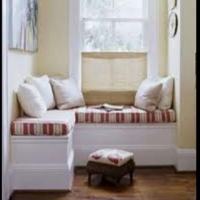 A Bright Little Window Seat Window Seat Design Corner Window Seats Window Seat