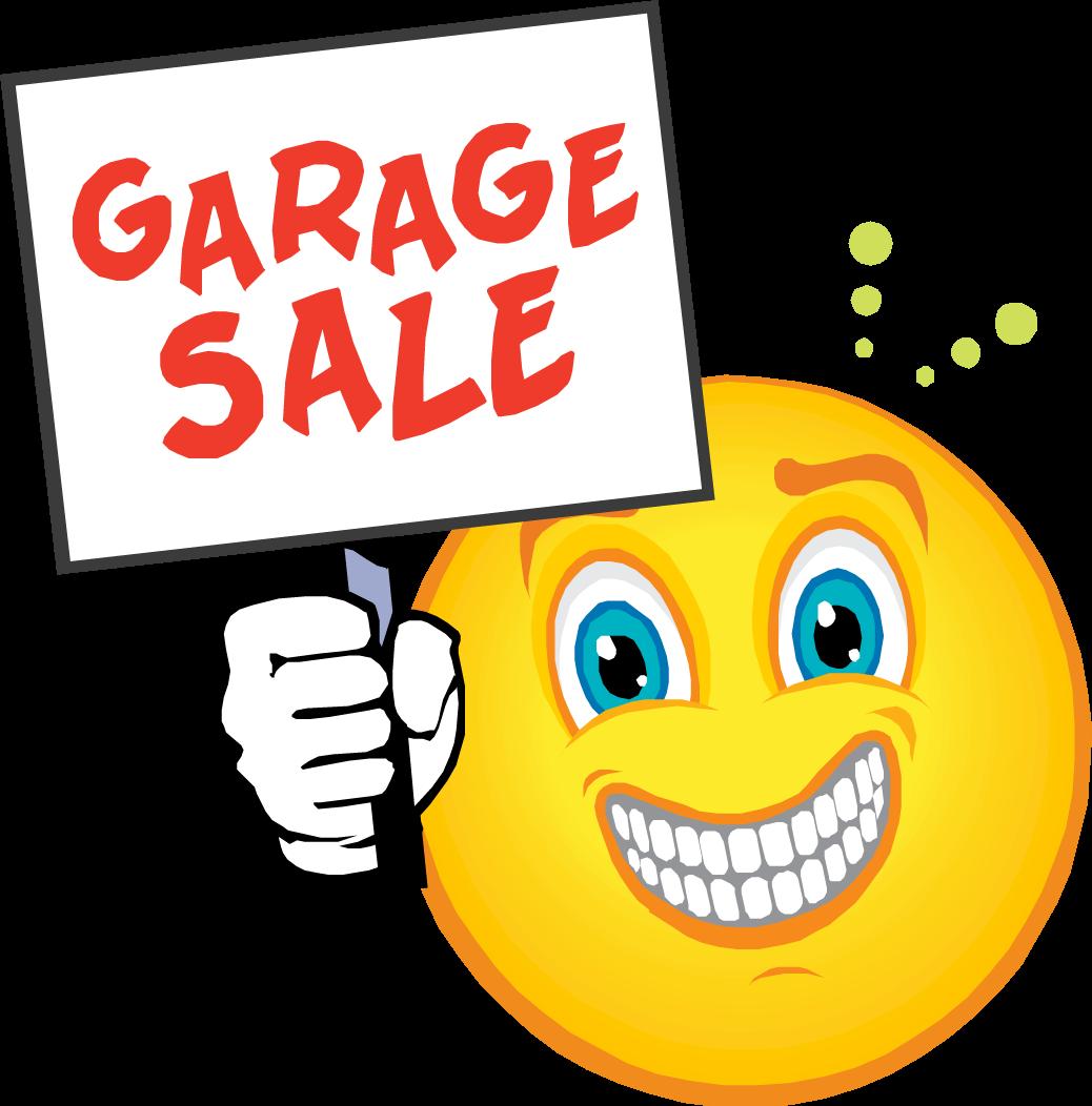GARAGE SALE SIGN IMAGES GarageSaleSmiley Stuff to