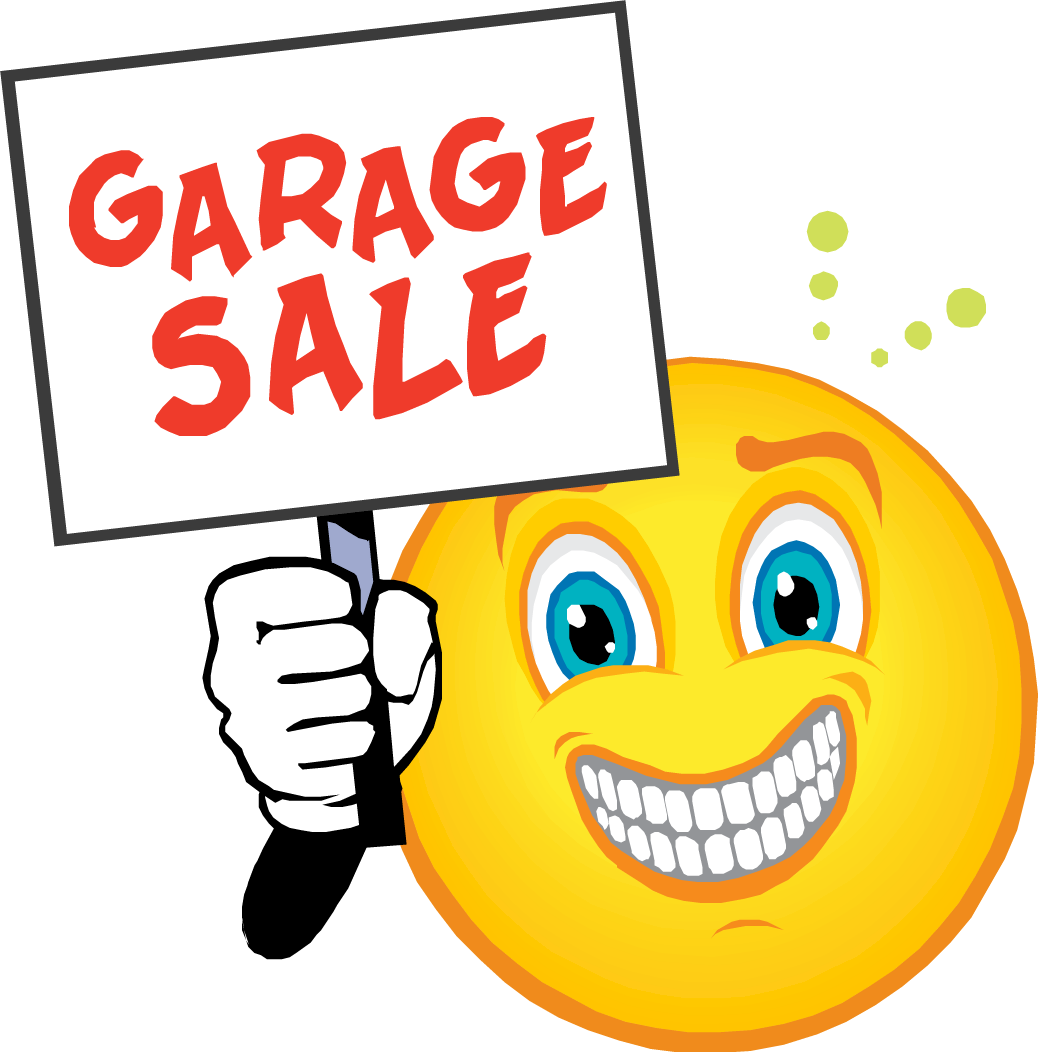 GARAGE SALE SIGN IMAGES | Garage-Sale-Smiley | Stuff to ...