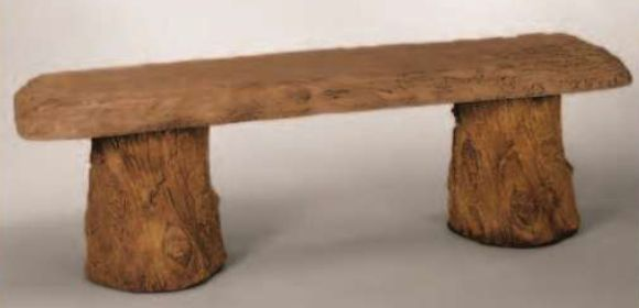 2846 Woodland Bench by Henri Studio. can be purchased at www.apollostatuary.com