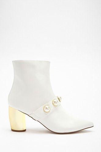 Shoe Republic Faux Leather Ankle Boots
