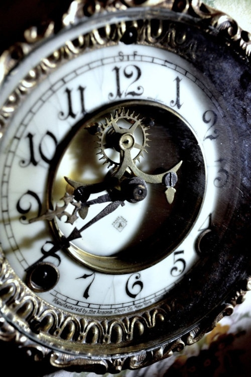 vintage time piece | All The Seconds We Love | Pinterest #gears,  steampunk