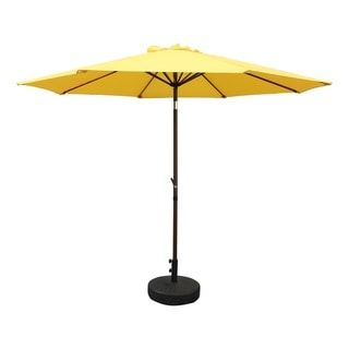 Nunam Iqua Aluminum 10-foot Patio Umbrella by Havenside Home (Yellow)