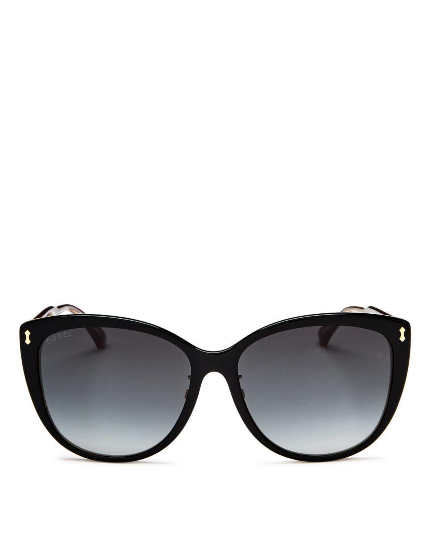 97f039a136e Gucci Oversized Cat Eye Sunglasses, 58mm | Shoes & Accessories | Cat ...
