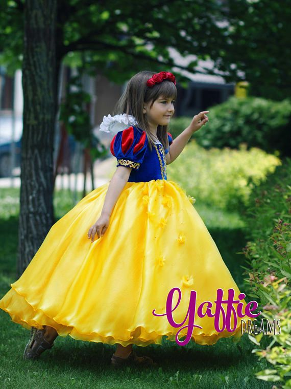 Attractive Snow White Dress Beautiful Disney Princess Outfit Halloween Costume For  Girl Birthday Party Gift Ideas Luxury Fantasy Fashion Design Flower Girl  Wedding ...