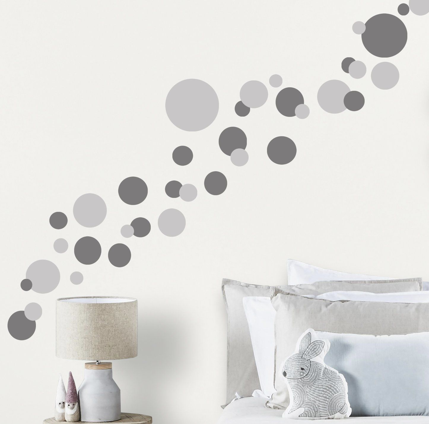 Set of 50 Wall Stickers Confetti Decals Paper clip Decals Office stickers Scandi Decals Paper Clip Wall Stickers Wall Pattern Decals
