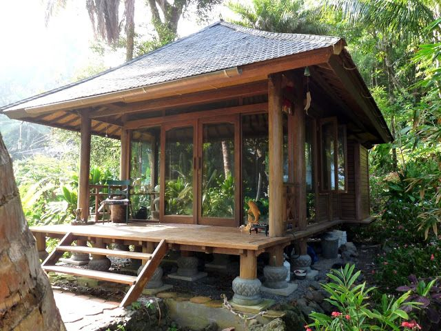 Kipahulu cottage 260 sq ft built in bali but can be for Cottage bali