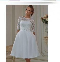 Vestidos de novia sencillos matrimonio civil