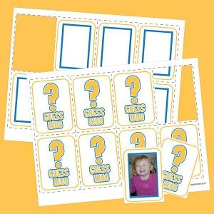 picture regarding Guess Who Cards Printable called Pin upon Math