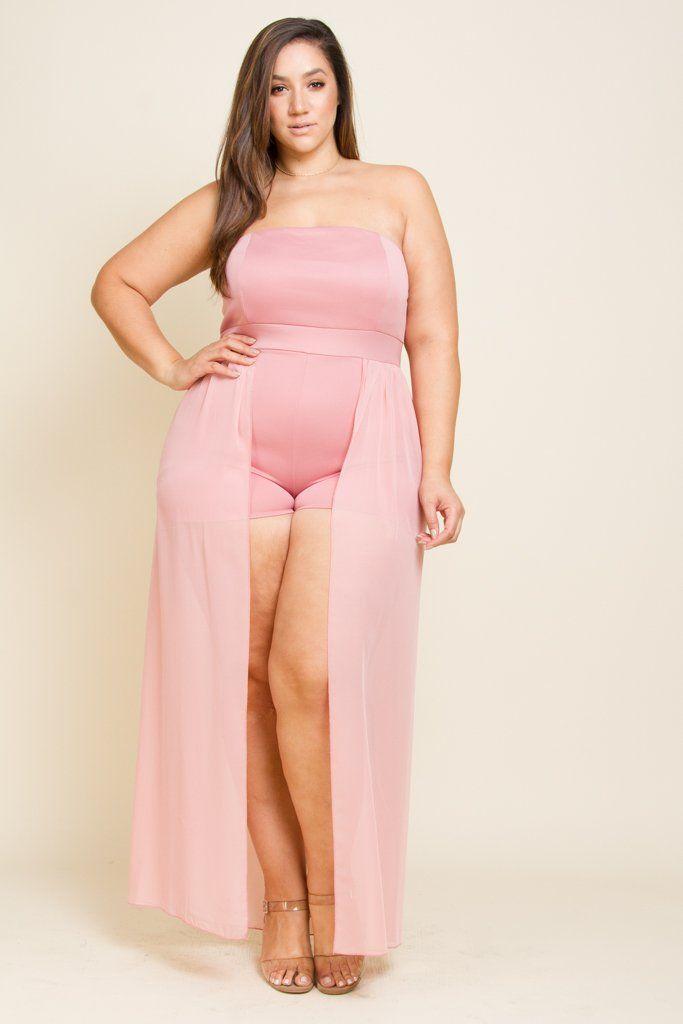 Plus Size Sexy Tail Romper | Erica Lauren | Pinterest | Vestidos ...