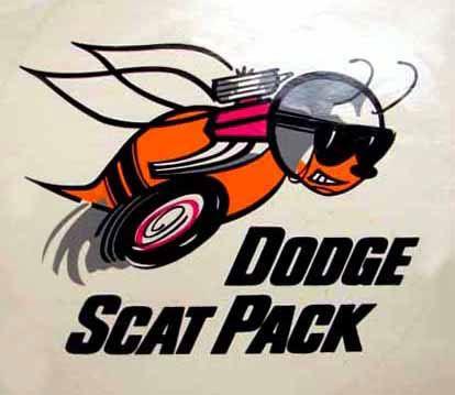 dodge scat pack   classic manufacturer logos   pinterest   dodge