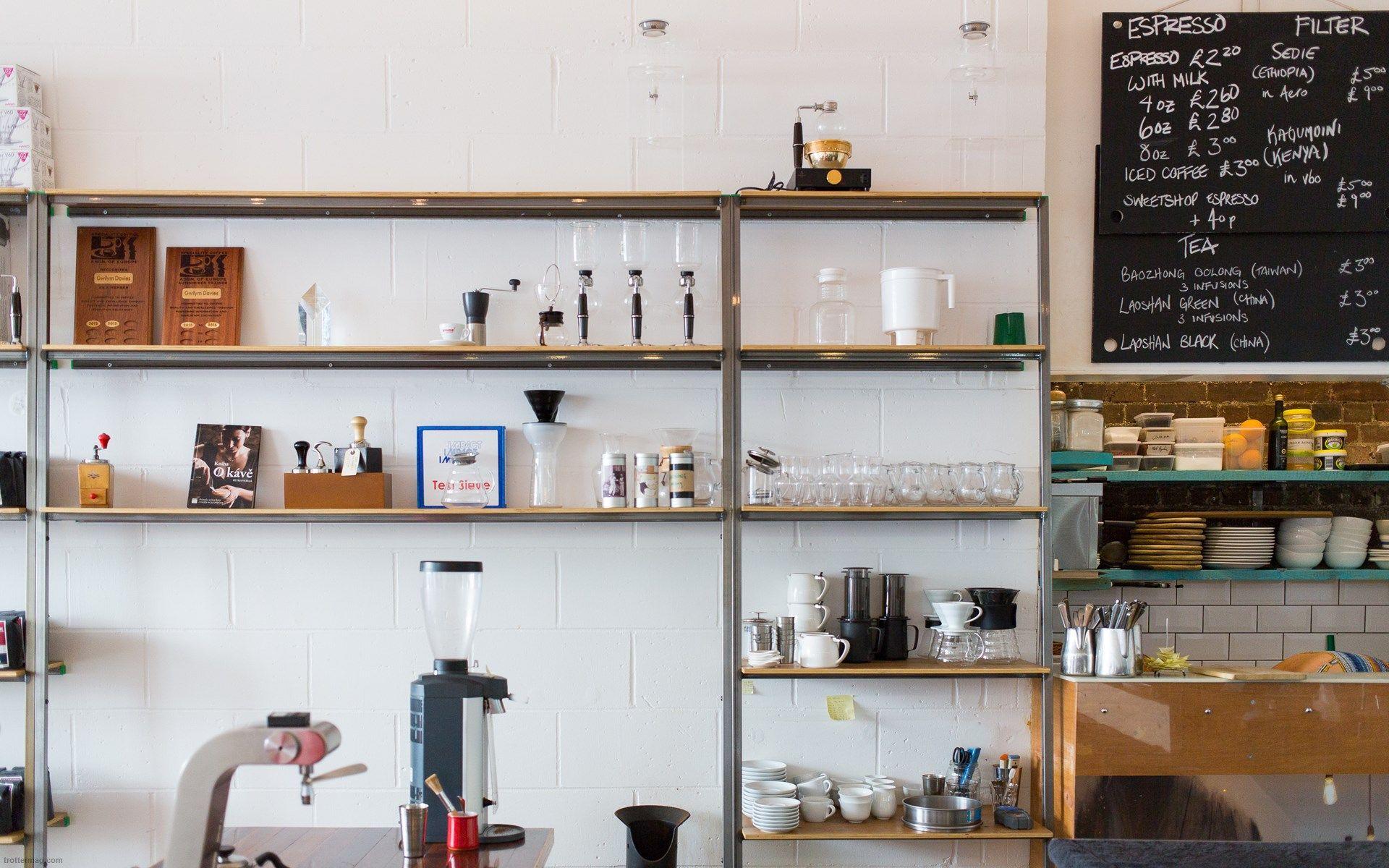 Prufrock Coffee, London - Get Prufrock Coffee Restaurant ...
