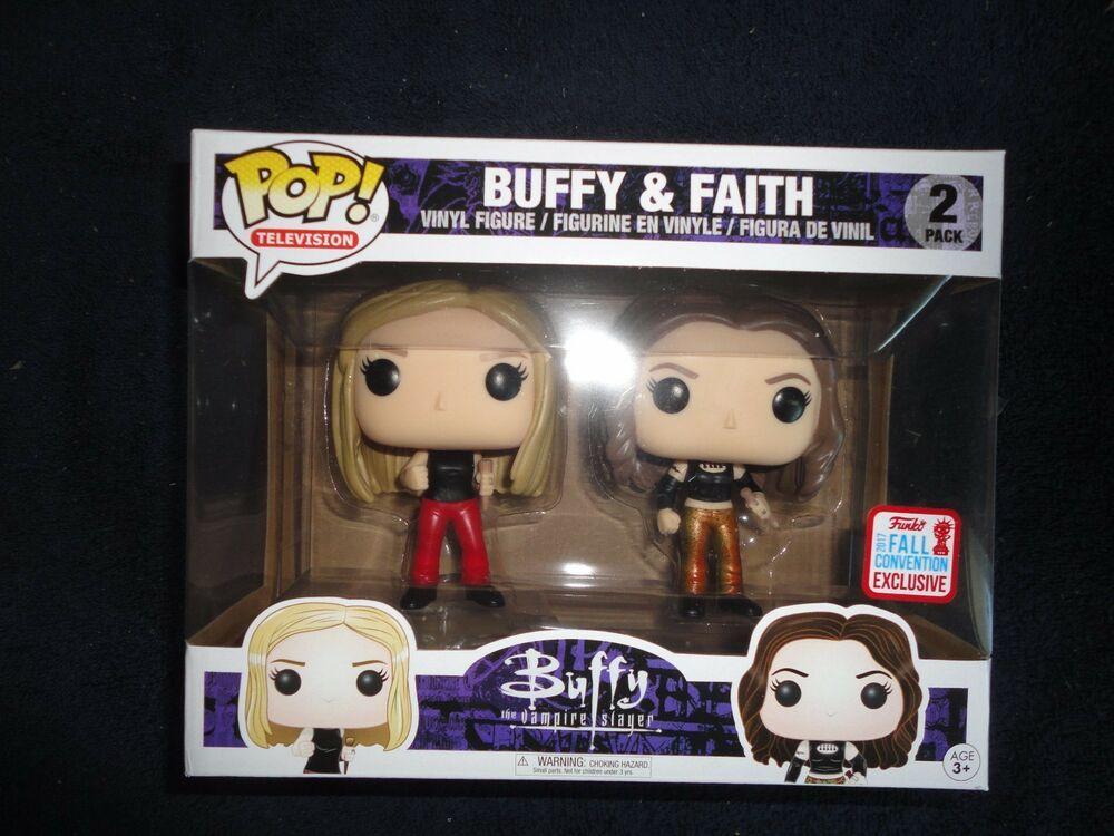 Funko Pop Nycc 2017 Exclusive Buffy The Vampire Slayer Buffy Faith 2 Pack Affilink Funko Funk Buffy The Vampire Slayer Vampire Slayer Buffy The Vampire
