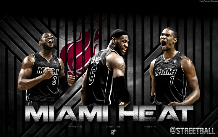 Miami Heat Miami Heat Basketball Miami Heat Lebron James Wallpapers