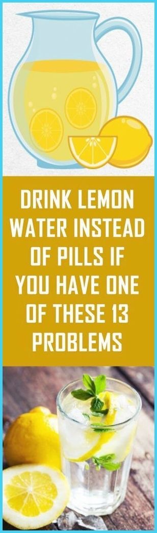 Drink Lemon Water Instead Of Pills If You Have One