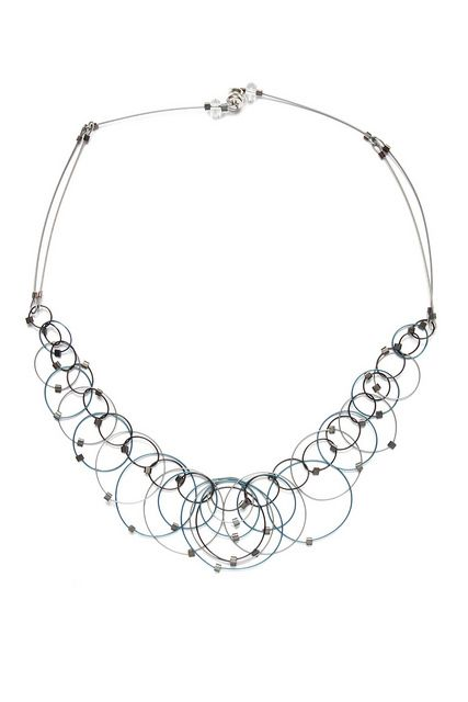 a unique alternative to the ubiquitous circles necklace, by Meghan Patrice Riley