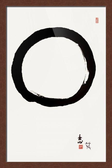 c99cb9f6b9614 Zen Enso Circle With Mu Shin