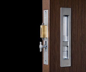 Modern Sliding Door Privacy Lock Modern Sliding Doors Door Hardware Modern Door Hardware