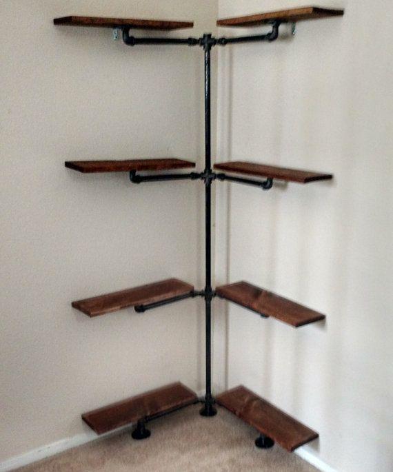 die besten 25 eisenrohr ideen auf pinterest eisenrohrregale r hrenregale und rohr dekor. Black Bedroom Furniture Sets. Home Design Ideas