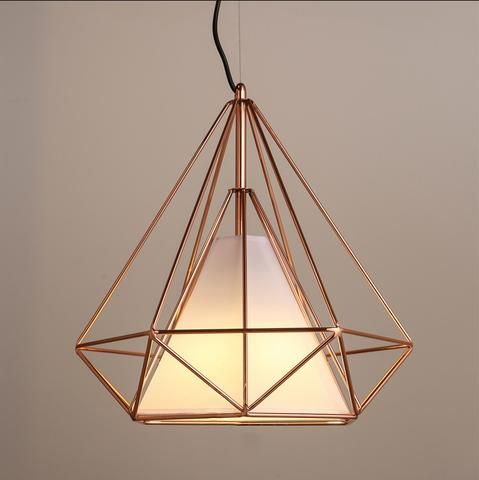 White Glider Pendant Light Chandelier In 2020 Cage Pendant Light