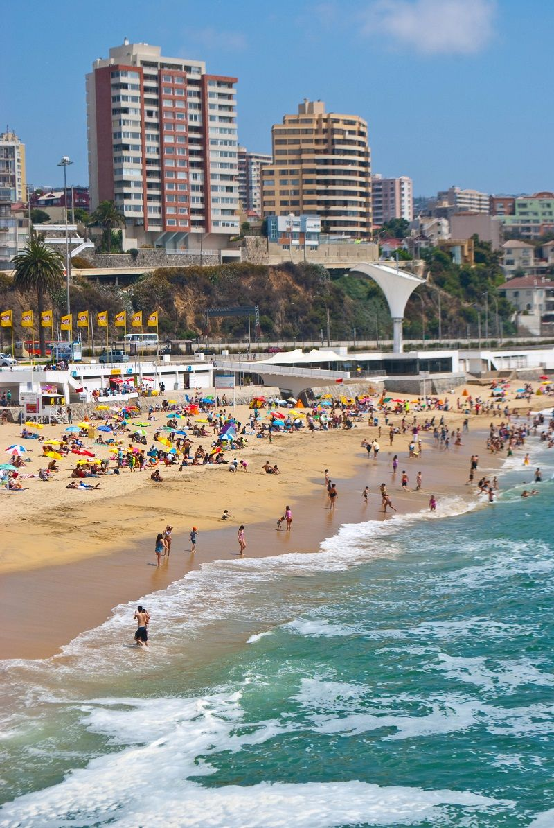 Vina Del Mar Chile Just A 90 Minute Drive From Santiago Through The Rolling Hills Of Casablanca Wine Region