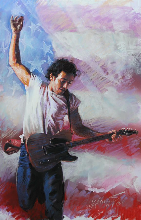 Bruce Springsteen The Boss by Viola El