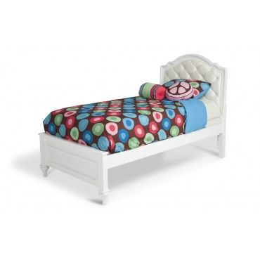 Madelyn Upholstered Twin Bed Kids Bed Headboards