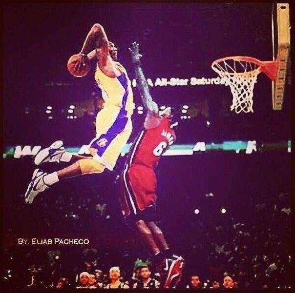 62b3511b166e Kobe s dunk on Lebron