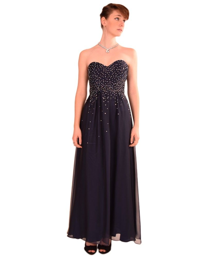 Cachet 56779 Strapless With Crystals $198