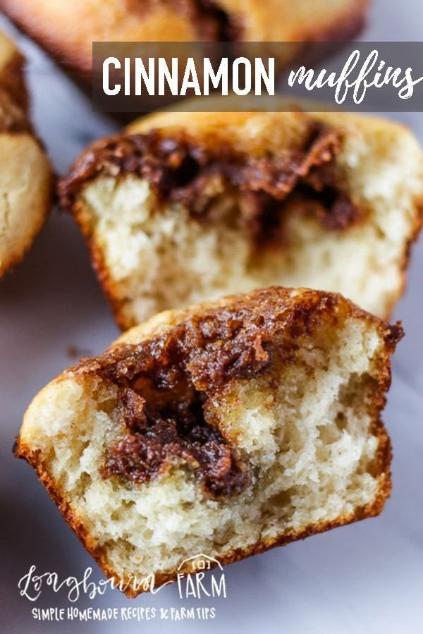 Zimt-Muffins – Muffins