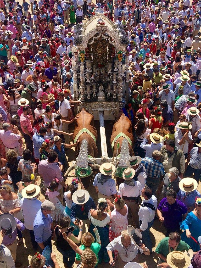 Rocío De Triana Fiestas Populares Ideas De Fondos De Pantalla Andalucía