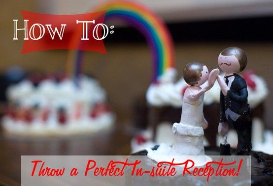How To Throw Wedding Reception In A Vegas Hotel Suite