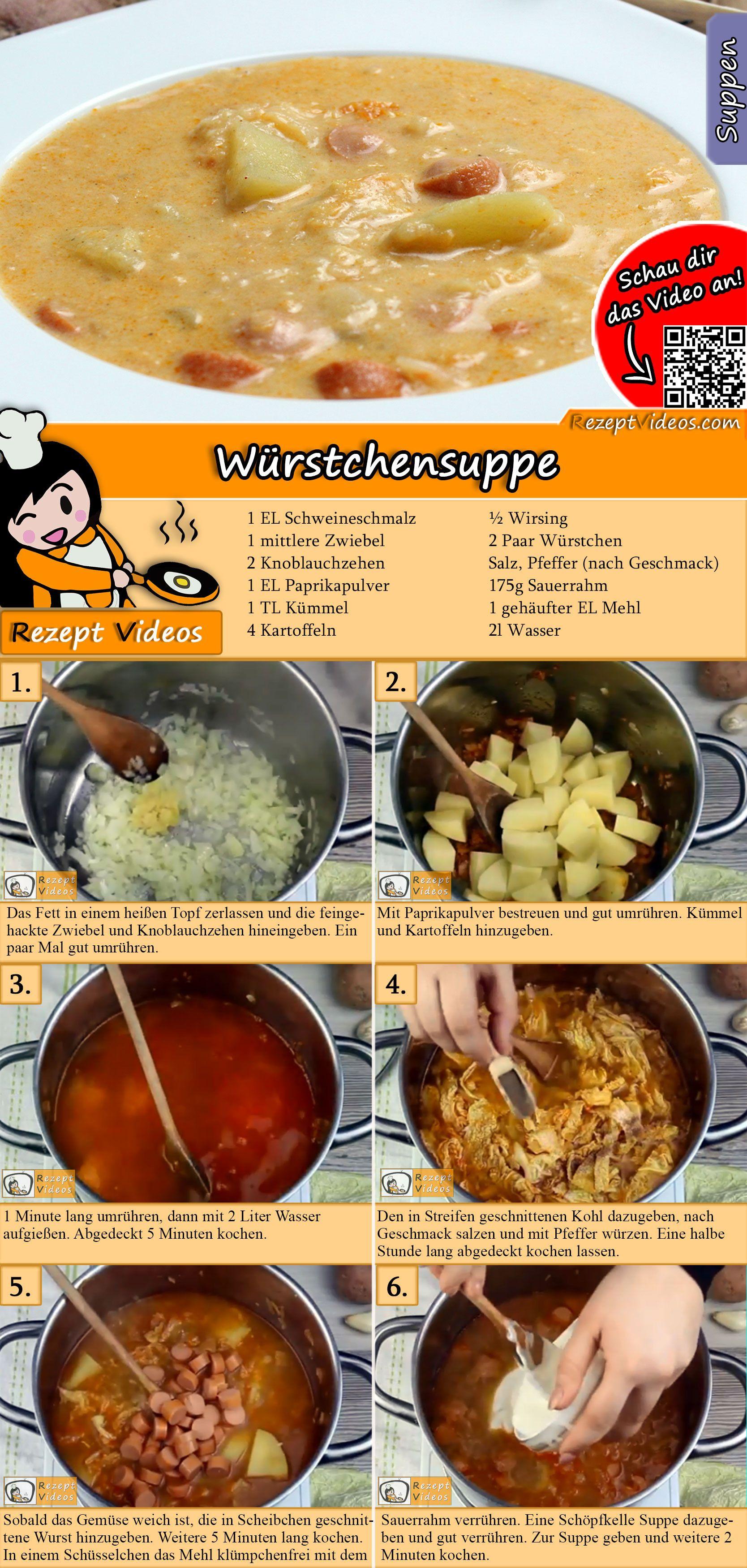 Würstchensuppe #sausagedinner