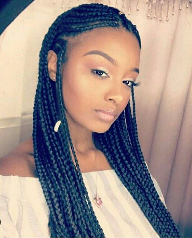 40+ Totally Gorgeous Ghana Braids Hairstyles | Protective