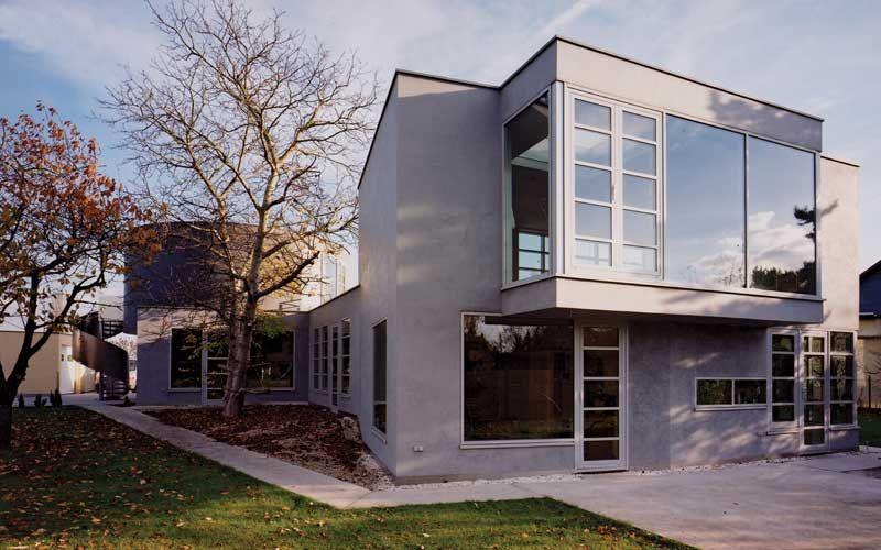 Modernes Architektenhaus in Leipzig bauen Architektur