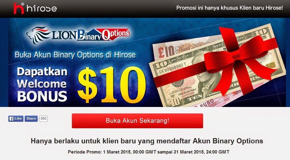 Hirose Gratis $10 Usd Trading Binary Tanpa Deposit | Artikel Seputar Bisnis Online