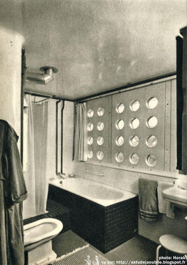 Nancy maison particuli re de jean prouv architetce jean prouv mobilier ateliers jean - Maison de jean prouve ...