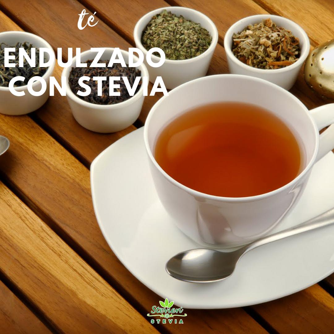 ¡Endulza tu té con Stevien! sin azúcar, natural, sin