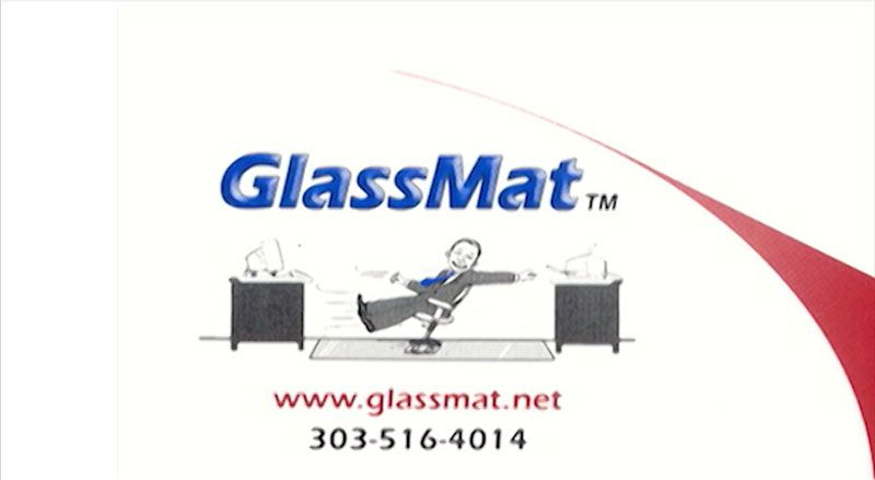 GlassMat Commercial  Glide across your office floor with and unbreakable office chair mat by GlassMat! Order now, online at Glassmat.net