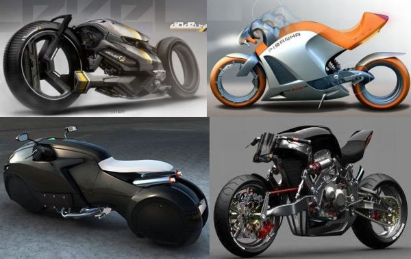 Top 10 Futuristic Concept Bike Designs Futuristic Motorcycle
